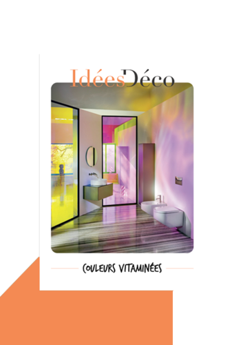 Idée déco couleurs vitaminées